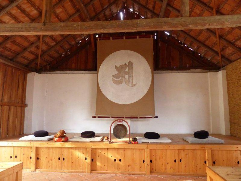 Nordseite de A Halle der Shunya S. Vihara